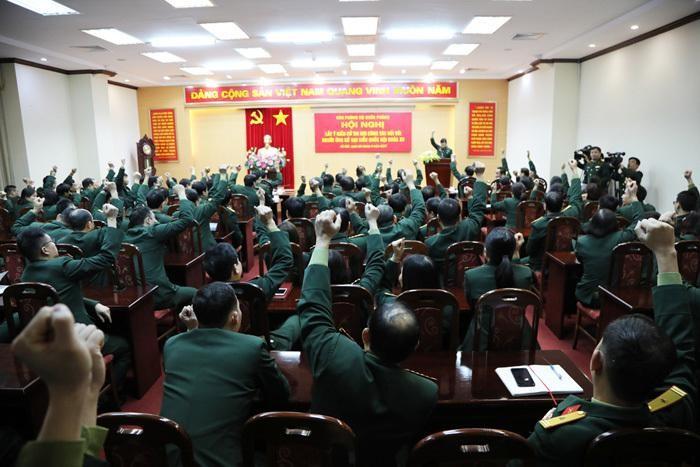 Hai Thứ trưởng Bộ Quốc phòng được giới thiệu ứng cử Quốc hội ảnh 1