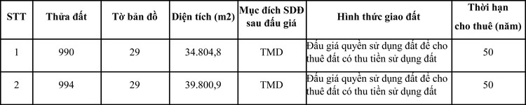 Ngày 6/4/2021, đấu giá quyền sử dụng đất tại huyện Càng Long, tỉnh Trà Vinh ảnh 1