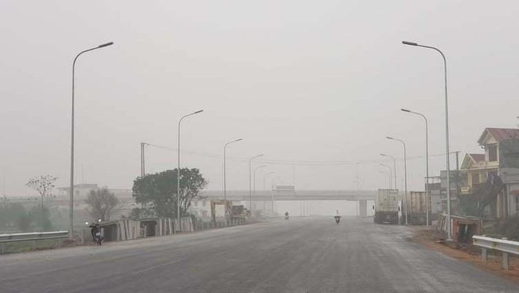 Hình ảnh 8 km cao tốc Bắc - Nam qua Ninh Bình sắp thông xe ảnh 1