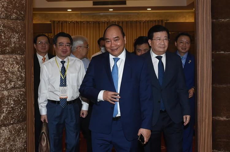CHÙM ẢNH: Thủ tướng chủ trì hội nghị lần 3 về phát triển bền vững ĐBSCL ảnh 1