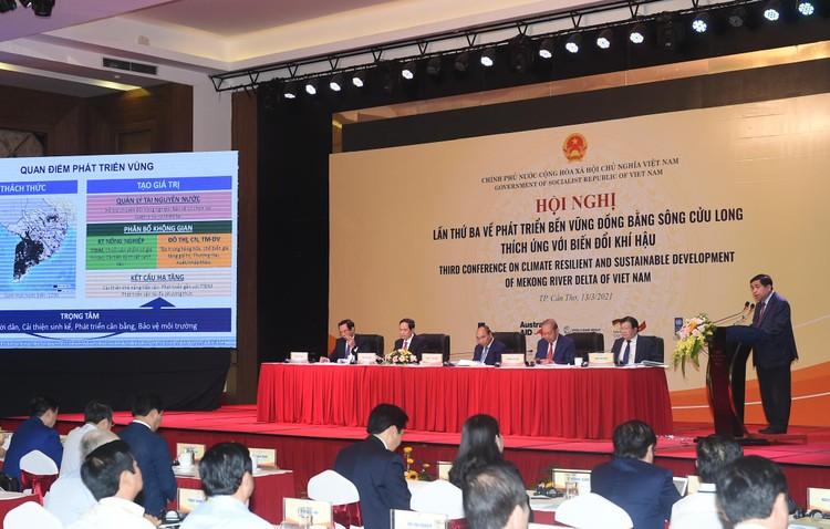 CHÙM ẢNH: Thủ tướng chủ trì hội nghị lần 3 về phát triển bền vững ĐBSCL ảnh 10