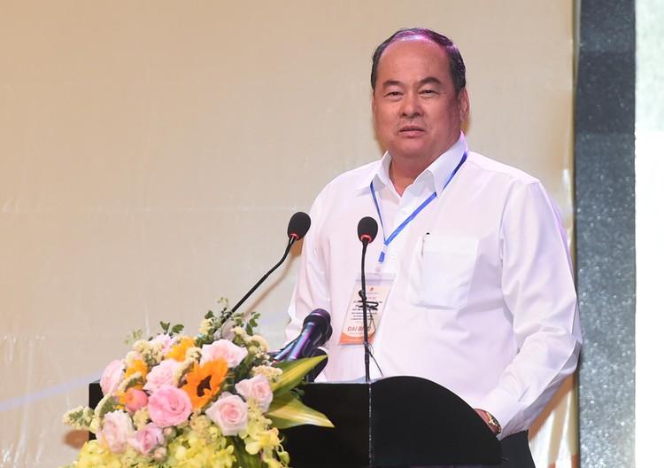 CHÙM ẢNH: Thủ tướng chủ trì hội nghị lần 3 về phát triển bền vững ĐBSCL ảnh 19