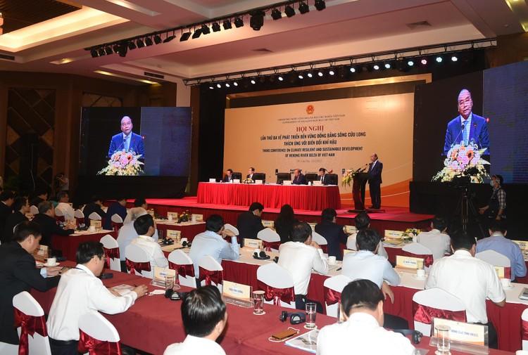 CHÙM ẢNH: Thủ tướng chủ trì hội nghị lần 3 về phát triển bền vững ĐBSCL ảnh 24