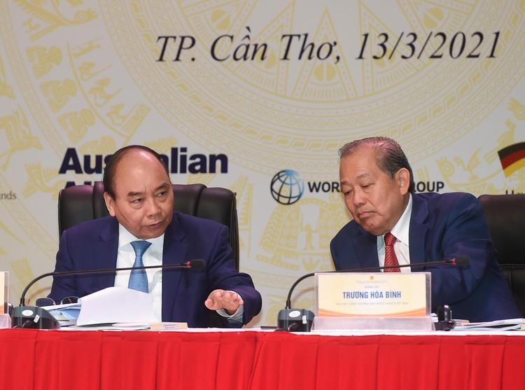 CHÙM ẢNH: Thủ tướng chủ trì hội nghị lần 3 về phát triển bền vững ĐBSCL ảnh 5