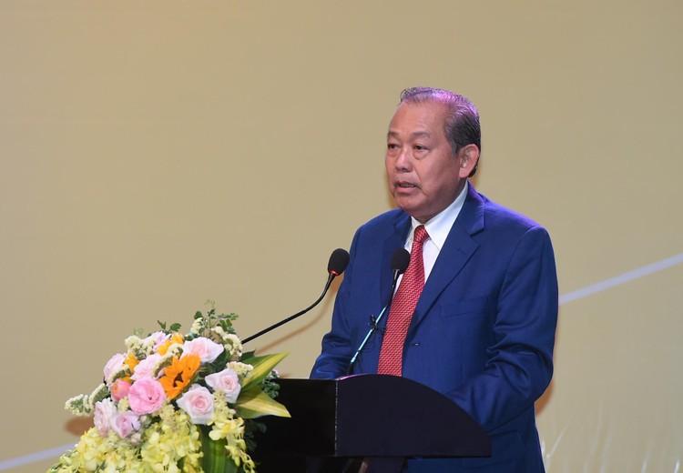 CHÙM ẢNH: Thủ tướng chủ trì hội nghị lần 3 về phát triển bền vững ĐBSCL ảnh 6