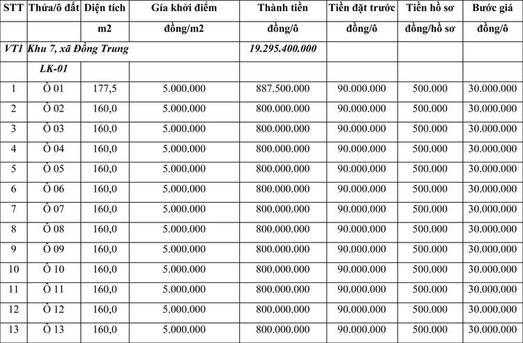 Ngày 30/3/2021, đấu giá quyền sử dụng đất tại huyện Thanh Thủy, tỉnh Phú Thọ ảnh 1