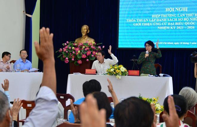 2 lãnh đạo TP.HCM vào danh sách sơ bộ người ứng cử đại biểu Quốc hội ảnh 1