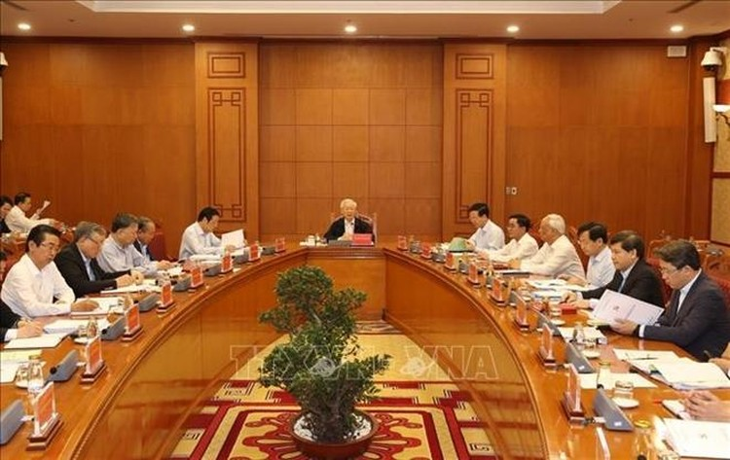Tổng Bí thư, Chủ tịch nước chủ trì họp BCĐ phòng, chống tham nhũng ảnh 1