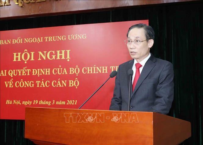 Bổ nhiệm đồng chí Lê Hoài Trung giữ chức Trưởng Ban Đối ngoại Trung ương ảnh 1