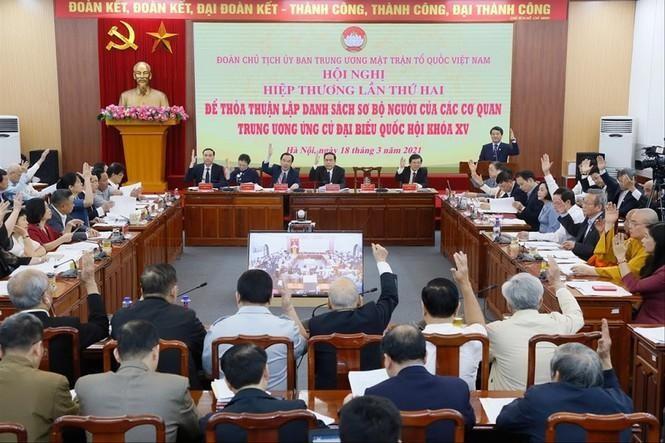 Hội nghị Hiệp thương lần thứ 2: Thủ tướng ứng cử ở khối Chủ tịch nước ảnh 1