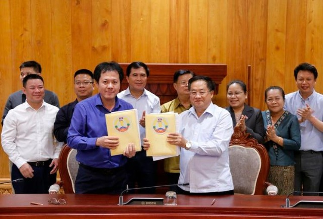 Việt Nam bàn giao Dự án Nhà Quốc hội Lào: Cận cảnh công trình ra sao? ảnh 9