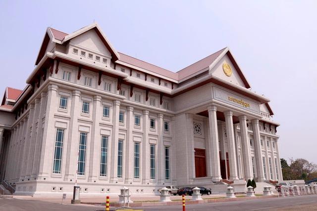 Việt Nam bàn giao Dự án Nhà Quốc hội Lào: Cận cảnh công trình ra sao? ảnh 1