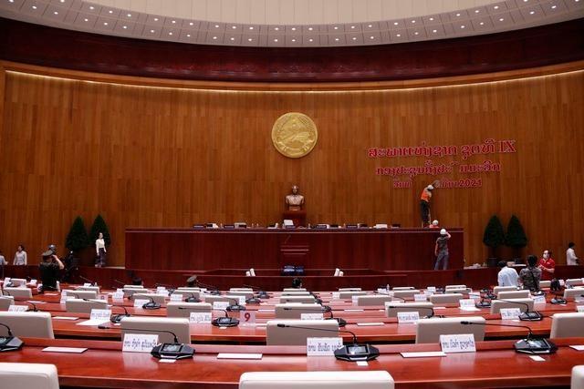 Việt Nam bàn giao Dự án Nhà Quốc hội Lào: Cận cảnh công trình ra sao? ảnh 2