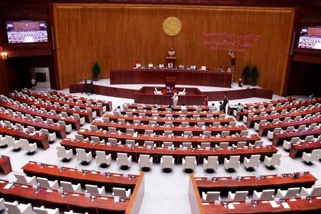 Việt Nam bàn giao Dự án Nhà Quốc hội Lào: Cận cảnh công trình ra sao? ảnh 3