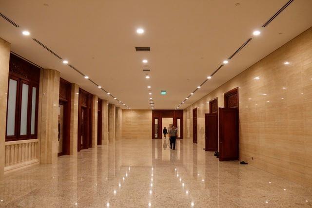 Việt Nam bàn giao Dự án Nhà Quốc hội Lào: Cận cảnh công trình ra sao? ảnh 4