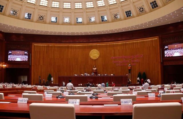 Việt Nam bàn giao Dự án Nhà Quốc hội Lào: Cận cảnh công trình ra sao? ảnh 5