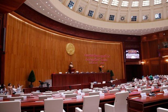 Việt Nam bàn giao Dự án Nhà Quốc hội Lào: Cận cảnh công trình ra sao? ảnh 6