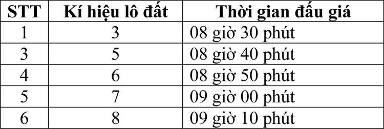 Ngày 10/4/2021, đấu giá quyền sử dụng đất tại huyện Ninh Hải, tỉnh Ninh Thuận ảnh 3