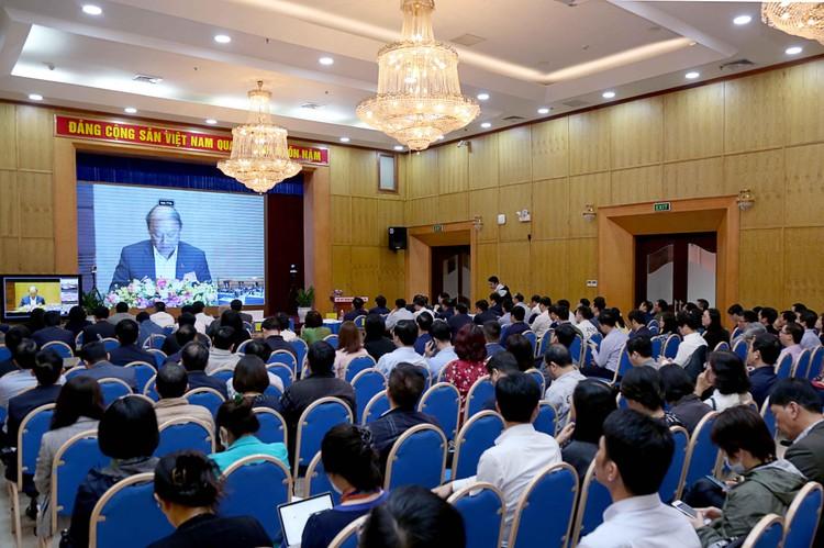 CHÙM ẢNH: Hội nghị quán triệt Nghị quyết Đại hội XIII của Đảng ảnh 9