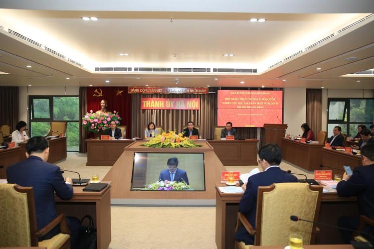 CHÙM ẢNH: Hội nghị quán triệt Nghị quyết Đại hội XIII của Đảng ảnh 11