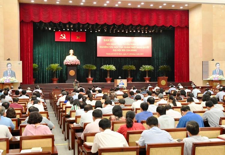 CHÙM ẢNH: Hội nghị quán triệt Nghị quyết Đại hội XIII của Đảng ảnh 12