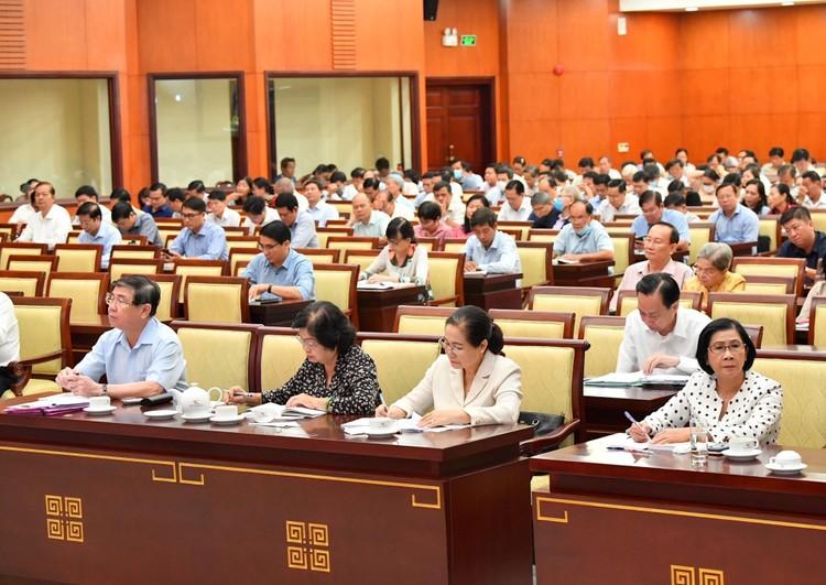 CHÙM ẢNH: Hội nghị quán triệt Nghị quyết Đại hội XIII của Đảng ảnh 13