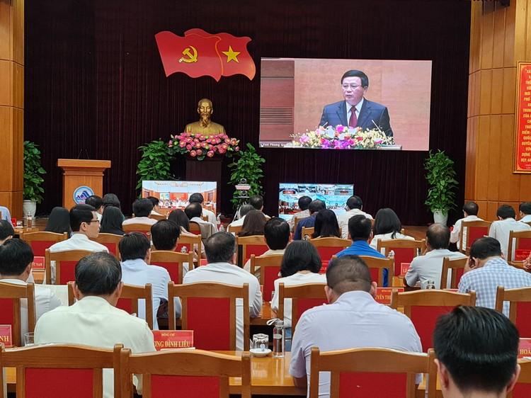 CHÙM ẢNH: Hội nghị quán triệt Nghị quyết Đại hội XIII của Đảng ảnh 14