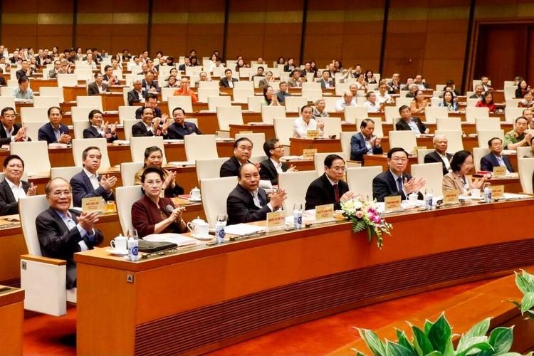 CHÙM ẢNH: Hội nghị quán triệt Nghị quyết Đại hội XIII của Đảng ảnh 2