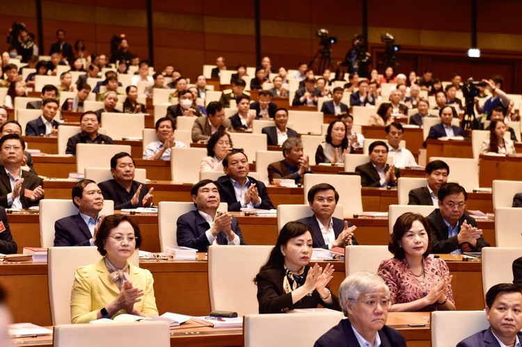 CHÙM ẢNH: Hội nghị quán triệt Nghị quyết Đại hội XIII của Đảng ảnh 3
