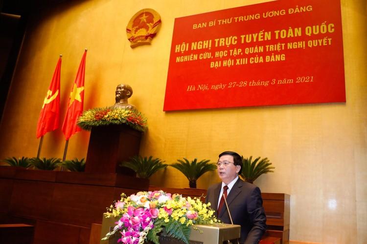 CHÙM ẢNH: Hội nghị quán triệt Nghị quyết Đại hội XIII của Đảng ảnh 4