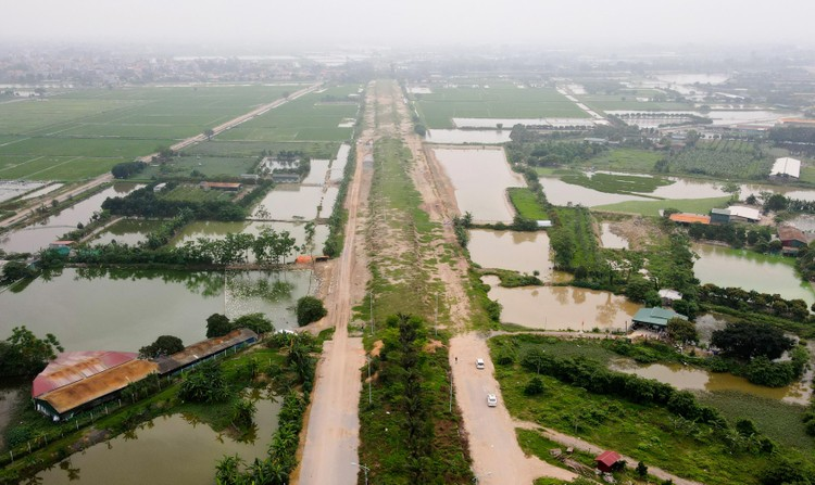 Toàn cảnh tuyến đường hơn 7.500 tỷ đồng kết nối 4 quận, huyện ở Hà Nội ảnh 12