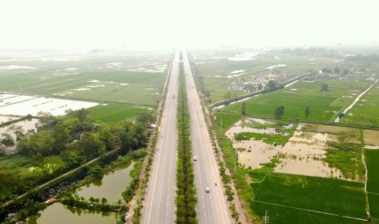 Toàn cảnh tuyến đường hơn 7.500 tỷ đồng kết nối 4 quận, huyện ở Hà Nội ảnh 1