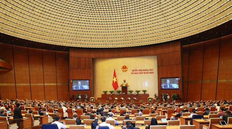 Ngày 5/4, Quốc hội tiến hành quy trình bầu Chủ tịch nước, Thủ tướng bằng hình thức bỏ phiếu kín ảnh 2