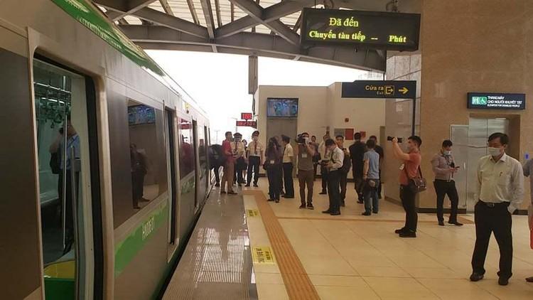 Đường sắt Cát Linh - Hà Đông chạy 6 phút/chuyến ảnh 2