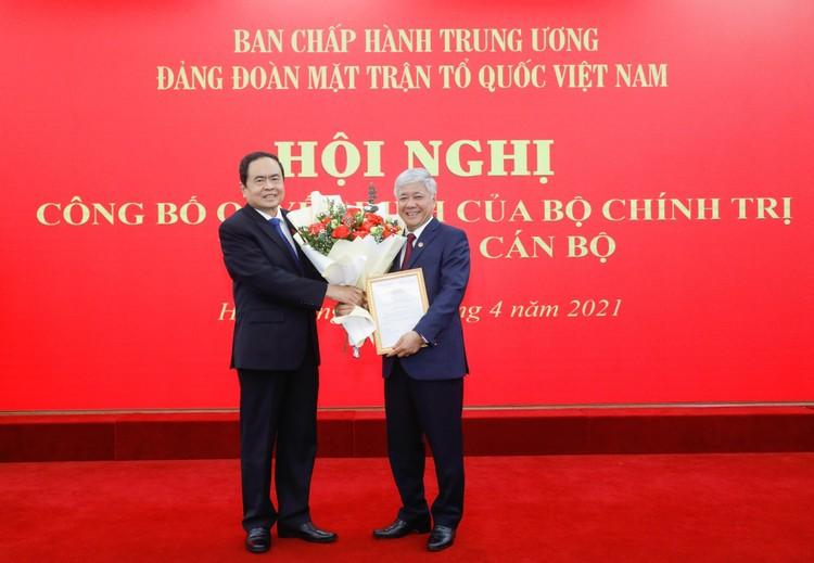 Bộ Chính trị chỉ định nhân sự giữ chức Bí thư Đảng đoàn MTTQ Việt Nam ảnh 1
