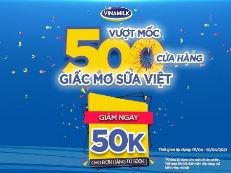 Vượt mốc 500 cửa hàng Giấc Mơ Sữa Việt, Vinamilk gia tăng trải nghiệm mua sắm cho người tiêu dùng ảnh 5