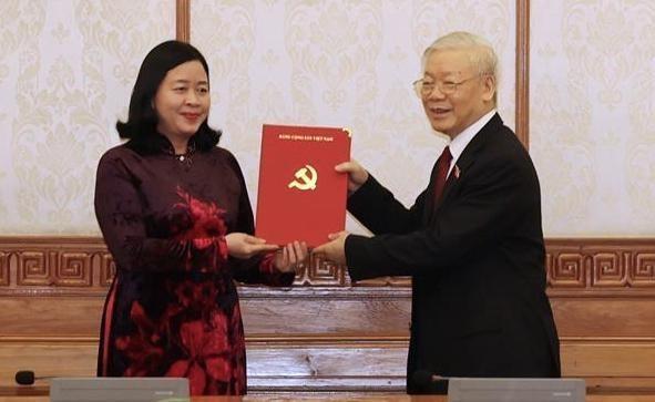 Bà Bùi Thị Minh Hoài giữ chức Trưởng Ban Dân vận Trung ương ảnh 1