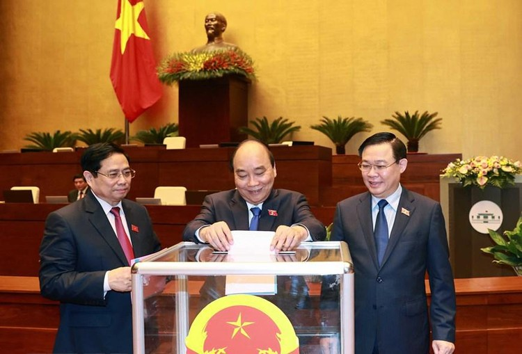 Quốc hội phê chuẩn đề nghị bổ nhiệm một số Phó Thủ tướng, Bộ trưởng ảnh 1