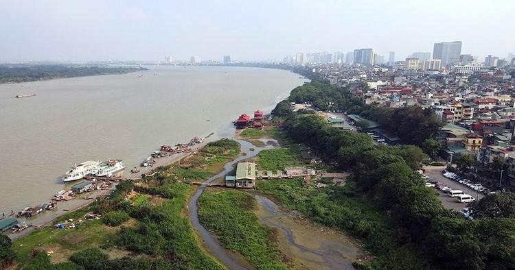 Cận cảnh những lô đất 'đắc địa' nằm trong quy hoạch sông Hồng ảnh 1