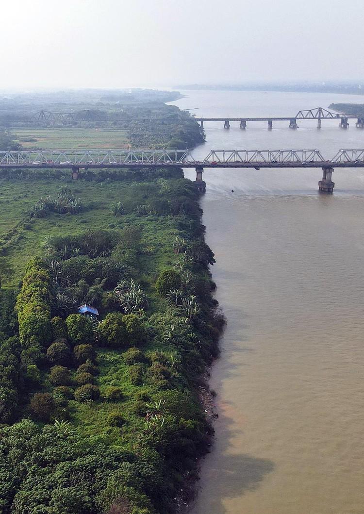 Cận cảnh những lô đất 'đắc địa' nằm trong quy hoạch sông Hồng ảnh 2