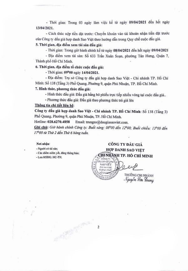 Ngày 14/4/2021, đấu giá xe ô tô Isuzu tại TP. Hồ Chí Minh ảnh 2