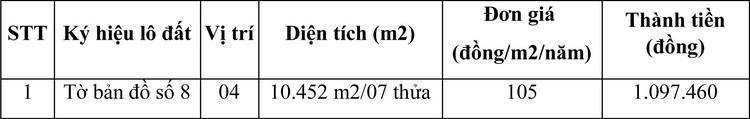 Ngày 28/4/2021, đấu giá quyền sử dụng đất tại huyện Ninh Hải, tỉnh Ninh Thuận ảnh 1