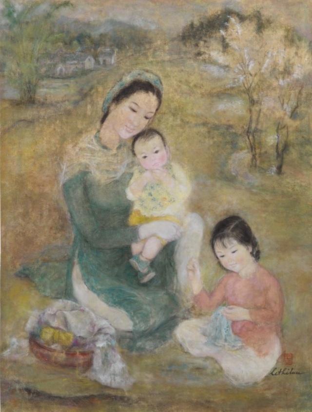12 siêu phẩm hội họa Việt đắt giá nhất trên thị trường đấu giá quốc tế ảnh 6