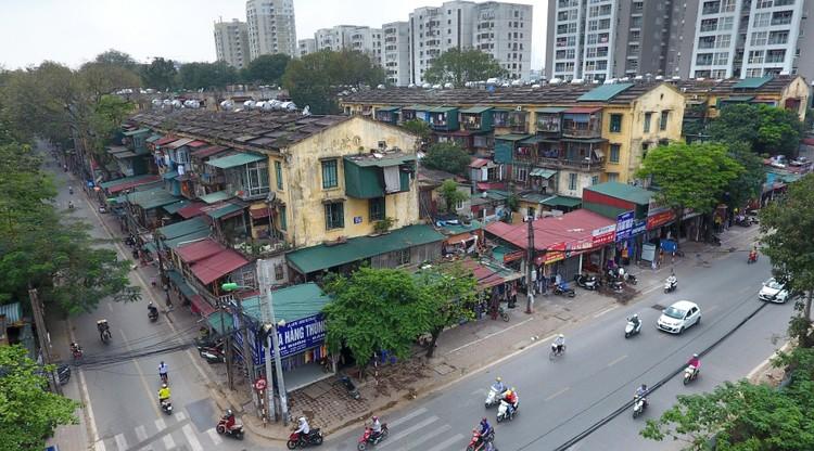 Điểm danh chung cư tập thể cũ xuống cấp, hư hỏng nặng để cải tạo, xây mới ở Hà Nội ảnh 1