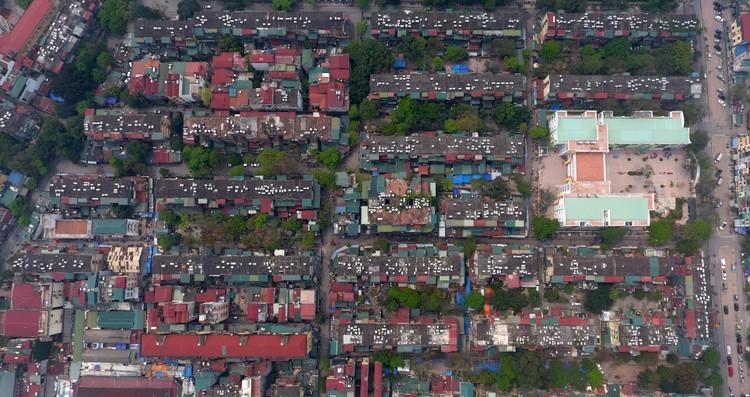 Điểm danh chung cư tập thể cũ xuống cấp, hư hỏng nặng để cải tạo, xây mới ở Hà Nội ảnh 4