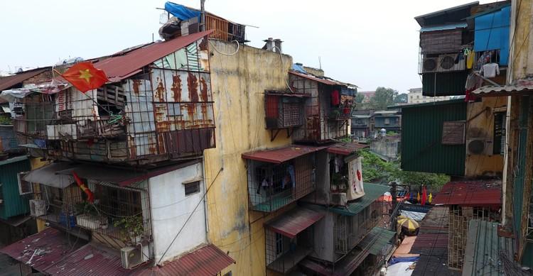 Điểm danh chung cư tập thể cũ xuống cấp, hư hỏng nặng để cải tạo, xây mới ở Hà Nội ảnh 6