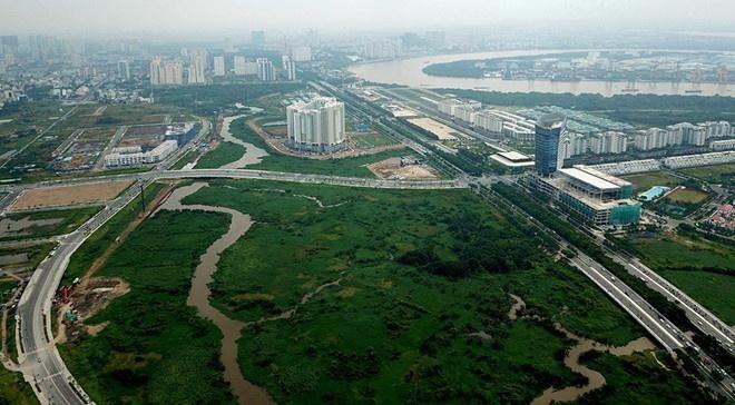 Triển khai đấu giá nhiều lô đất thương mại trong khu đô thị mới Thủ Thiêm ảnh 1