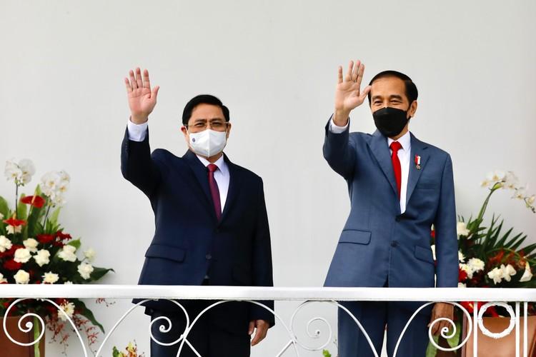 Thủ tướng Phạm Minh Chính hội đàm với Tổng thống Indonesia, định hướng quan hệ Đối tác Chiến lược giữa hai nước ảnh 2