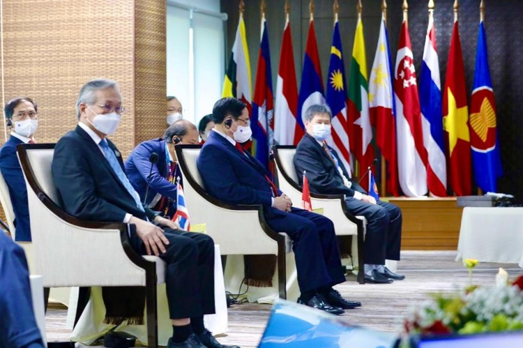 Thủ tướng Chính phủ Phạm Minh Chính tham dự Hội nghị các nhà Lãnh đạo ASEAN ảnh 3