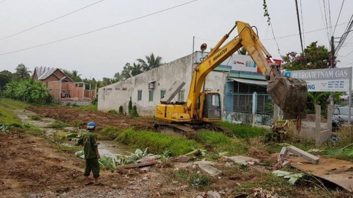 Cao tốc Mỹ Thuận - Cần Thơ tích cực thi công sau 4 tháng triển khai ảnh 1